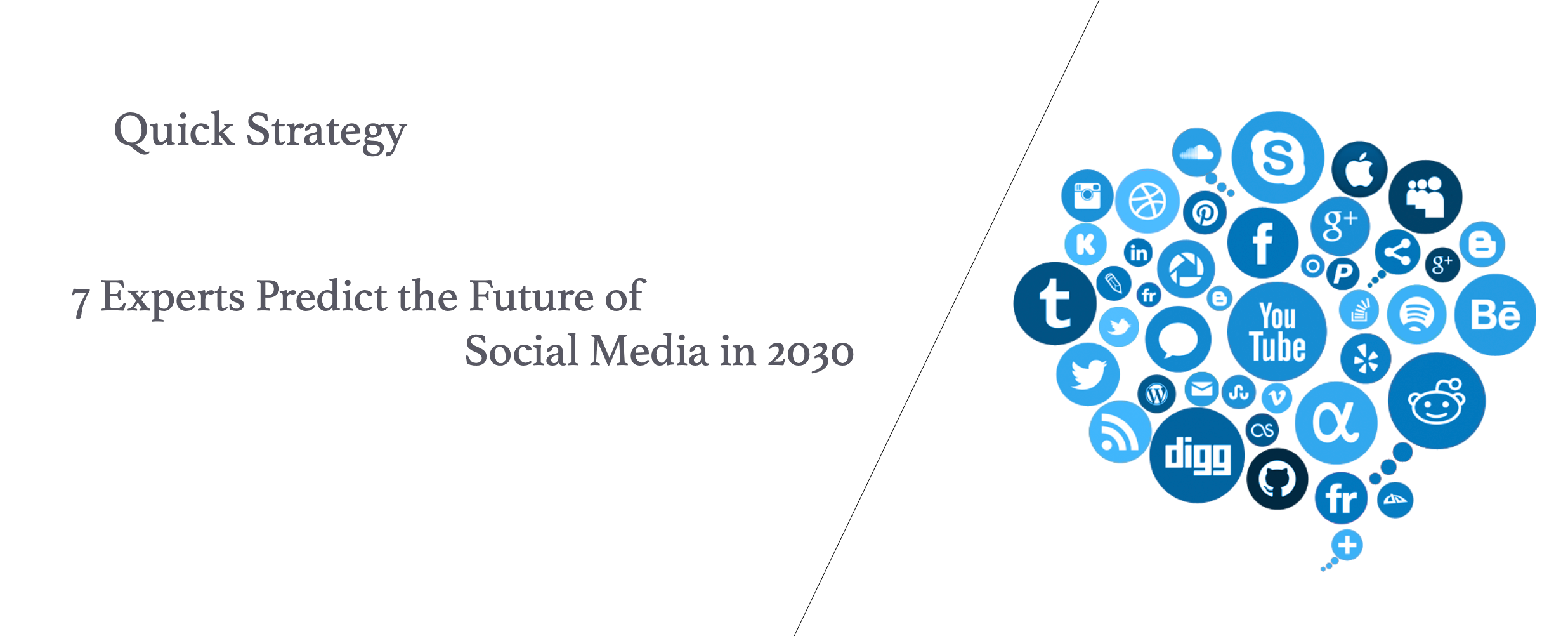7 Experts Predict the Future of Social Media in 2030